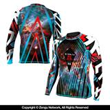 Newaza Galaxy Grappling Rashguard